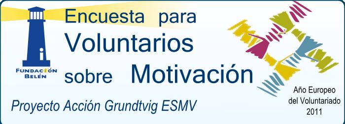 Cuestionario sobre motivación del voluntariado
